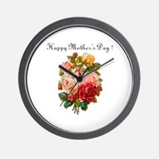 """""""Mother's Day"""" Wall Clock"""