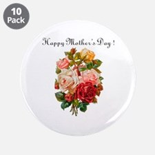 """Mother's Day"" 3.5"" Button (10 pack)"