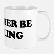 Rather be Paddling Mug