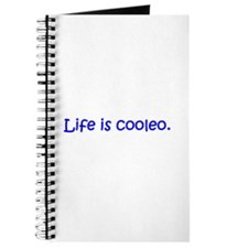 Life is cooleo. Journal
