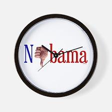 Nobama Wall Clock