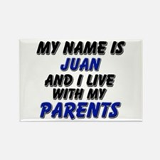 my name is juan and I live with my parents Rectang