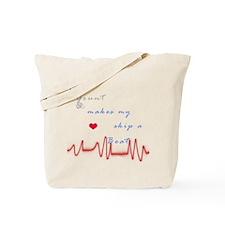 Grunt Heart Beat Tote Bag