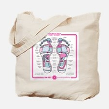 Reflexology Chart Tote Bag 2