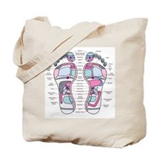 Reflexology Chart Tote Bag 1