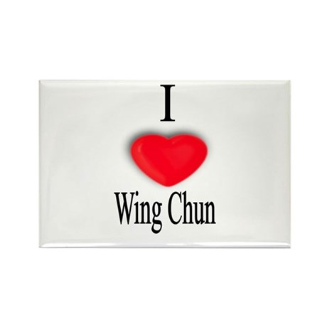 Wing Chun Rectangle Magnet (10 pack)