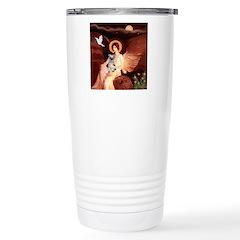 Angel / Min Schnauzer Travel Mug