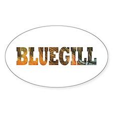 Bluegill Fishing Decal