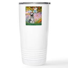 Garden / Miniature Schnauzer Travel Mug
