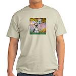 Garden / Miniature Schnauzer Light T-Shirt