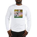 Garden / Miniature Schnauzer Long Sleeve T-Shirt