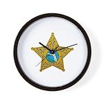 Citrus County Sheriff Wall Clock