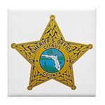 Citrus County Sheriff Tile Coaster