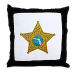 Citrus County Sheriff Throw Pillow