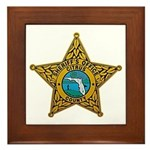 Citrus County Sheriff Framed Tile