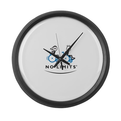 Chase Girl Large Wall Clock