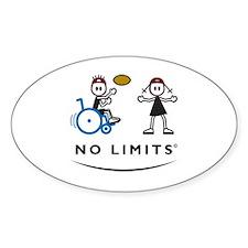 Rugby Boy Oval Sticker (10 pk)