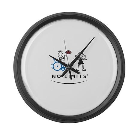 Football Boy Large Wall Clock