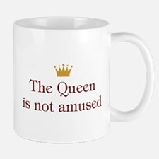 Queen Not Amused Mug