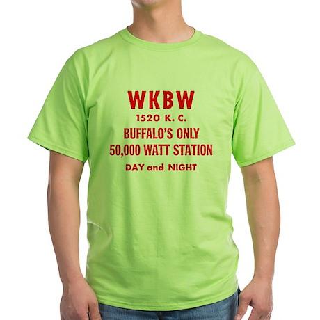 WKBW 1520 Green T-Shirt
