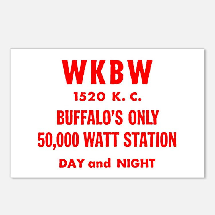 WKBW 1520 Postcards (Package of 8)
