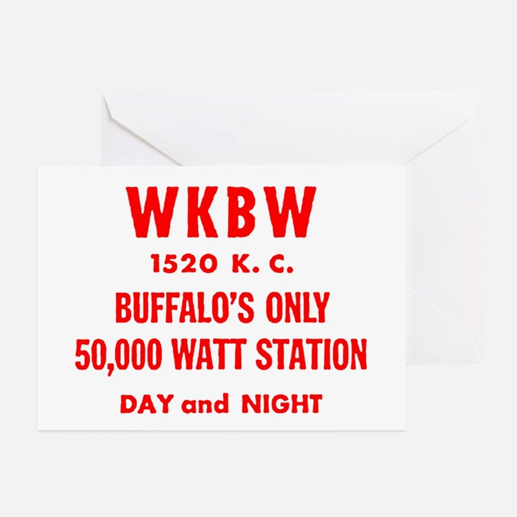 WKBW 1520 Greeting Cards (Pk of 20)