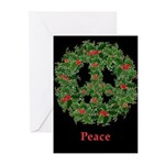 Peace AntiWar Christmas Cards Pk of 10