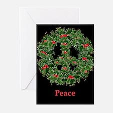 Peace AntiWar Christmas Cards Pk of 10