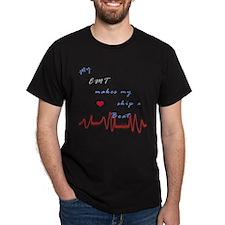 EMT Heart Beat T-Shirt
