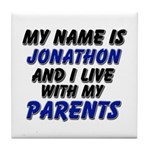 my name is jonathon and I live with my parents Til