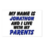 my name is jonathon and I live with my parents Pos