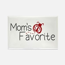Mom's Favorite Kid Rectangle Magnet