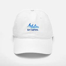 SURF HAPPENS.. Baseball Baseball Cap