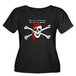 To err is human, to arr is pi Women's Plus Size Sc