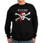 To err is human, to arr is pi Sweatshirt (dark)