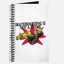 SKATEBOARDING IS NOT A CRIME Journal