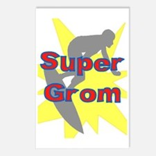 SUPER GROM! Postcards (Package of 8)