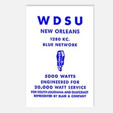 WDSU 1280 Postcards (Package of 8)
