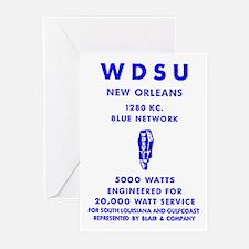 WDSU 1280 Greeting Cards (Pk of 20)
