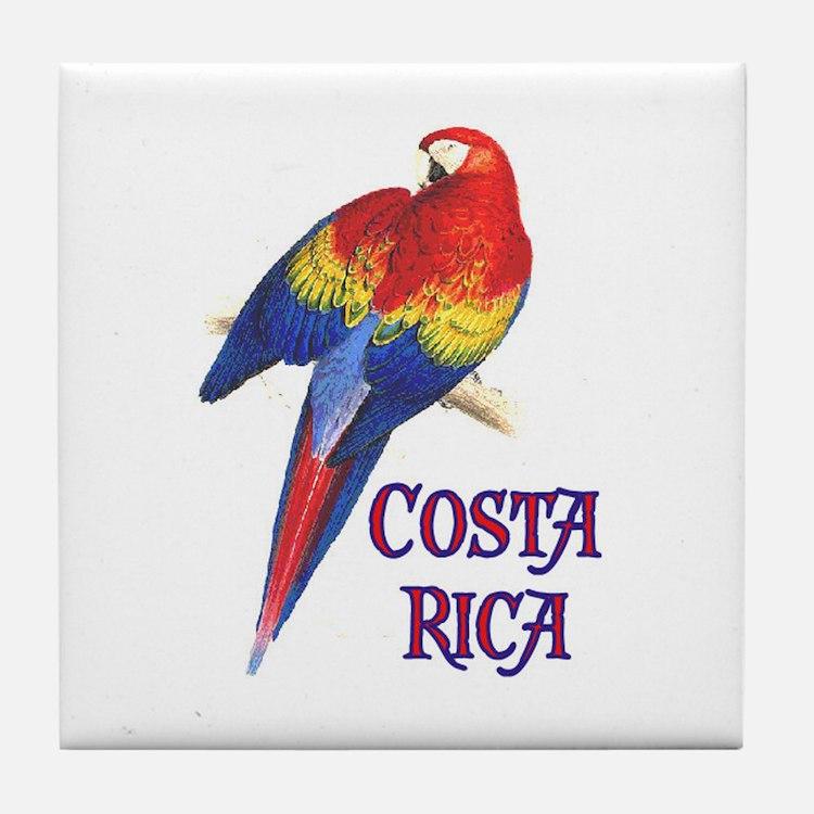 COSTA RICA II Tile Coaster