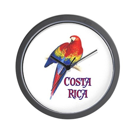 COSTA RICA II Wall Clock