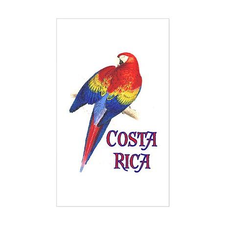 COSTA RICA II Rectangle Sticker