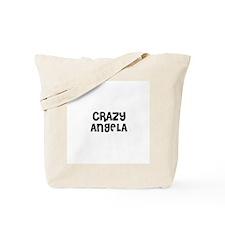 CRAZY ANGELA Tote Bag
