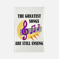 SONGS UNSUNG Rectangle Magnet