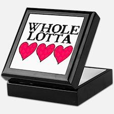 WHOLE LOTTA LOVE (HEARTS) Keepsake Box