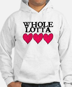 WHOLE LOTTA LOVE (HEARTS) Hoodie