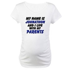 my name is johnathon and I live with my parents Ma