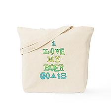 Love My Boer Goats Tote Bag