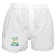 Love My Boer Goats Boxer Shorts
