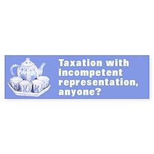 Taxation Incompetent Representation (Bumper)